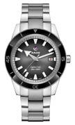 New Rado Captain Cook Automatic Stainless Steel Black Dial Men's Watch R32105153