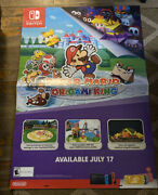 Nintendo Switch Paper Mario The Origami King Display Store Wall Poster 33x48