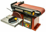 Replacement Belt And Disc Sander Drive Belt For Sbd46 Sherwood Sbd46 Linisher B27f