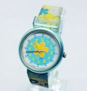 Bubbles The Powerpuff Girls Joy And Laughter Flik Flak By Swatch Floral Watches