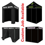 Eurmax Ez Pop Up Canopy Tent Commercial Photo Booth W/carry Bag Party Wedding