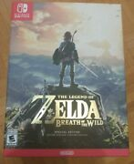 The Legend Of Zelda Breath Of The Wild Special Edition Nintendo Switch New