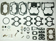 1958-61 Chevy 348 Tri Power Rochester 2 Barrel Carb Kits And Floats-does 3 Carbs-