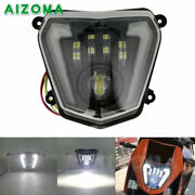 Motorcycle Dirt Bike Replacement Led Headlight For 690 690r 2013-2017