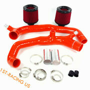 2.25 Air Filter+1.75 Inlet Silicone Hose Kit For Bmw N54 135 335 535 Z4 3.0l