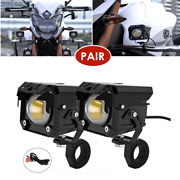 1pair 60w Led Spotlight Work Light Driving Fog Auxiliary Light W/button Switch