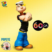 Zcwo Popeye 90th Anniversary Limited Edition Pvc H60cm24inch Figures