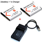 Np-bn1 Battery / Charger For Sony Cyber Shot Dsc-wx5 Dsc-wx7 Dsc-wx9 Dsc-wx30