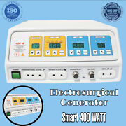 Electrosurgical Generator 400 W Electro Surgical Cautery Pure Blend And Endo Cut