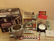 Cylinder Works And Hi-comp Wiseco Piston Kit 02-08 Honda Crf450 Crf450r Crf 450r