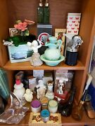 Vintage Avon Huge Lot Of Over 25 Perfume And Cologne Bottlesand Gife Items