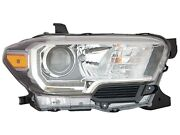 For 2016-2020 Tacoma Truck Head Light With Led Drl Passenger Right Rh 8111004270