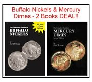 The Complete Guide To Us Buffalo Nickels And Mercury Dimes Coins 2 Books Deal New