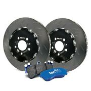 For Audi Rs4 2007-2008 Ebc S27kf1001 Stage 27 Slotted Front Brake Kit