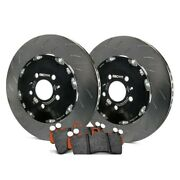 For Audi Rs4 2007-2008 Ebc S28kf1001 Stage 28 Slotted Front Brake Kit