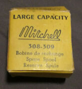 Vintage Mitchell Reel Spare Spool -308-309- Made In France No.9110