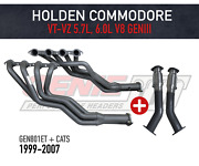 Genie Headers And Bolt-on Cats For Holden Commodore Vt-vz V8 Geniii - 1 3/4 Tuned