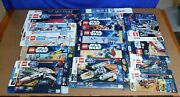 Lego Star Wars Empty 14 Boxes 9515 8019 7679 7962 9493 10225 10215 + More
