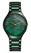 Rado True Thinline High-tech Cermic Mother Of Pearl Dial Menand039s Watch R27006912