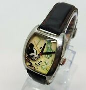 Seiko Walt Disnet Limited Collection Mickey Mouse Watch Hipster 90s Vintage Rare
