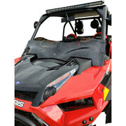 Klock Werks Utv Flare Windshield - Rzr Dark Smoke Kw05-01-0531-ds