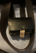 Jc Miller Us Ord Dept Sub Inspector Leather Bag Ammo Pouch 3 Slots Fulks W/strap