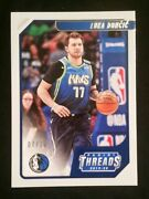 2019-20 Panini Chronicles Threads Luka Doncic 100 Gold Parallel 7/10 Ssp
