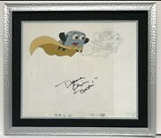 Deanna Oliver The Brave Little Toaster Autographed Framed Production Cell 17x20