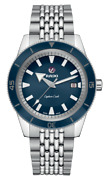 New Rado Captain Cook Automatic Stainless Steel Blue Dial Menand039s Watch R32505203