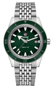 New Rado Captain Cook Automatic Stainless Steel Green Dial Men's Watch R32505313