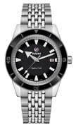 New Rado Captain Cook Automatic Stainless Steel Black Dial Men's Watch R32505153
