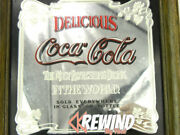 Coca-cola Coke Mirror, Vintage Advertisement, Most Refreshing Drink In The World