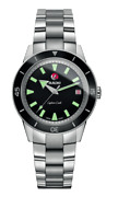 Rado Captain Cook Automatic Stainless Steel Black Dial Unisex Watch R32500153