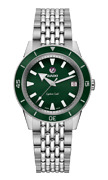 Rado Captain Cook Automatic Stainless Steel Green Dial Unisex Watch R32500323