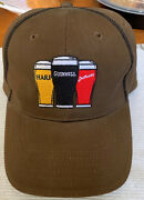 Guinness Harp Smithwicks Embroidered Cap Hat Three Beers Strong One Size Fitsall