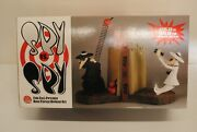 Rare Spy Versus Spy Bookends Porcelain Hand Painted Dc Direct