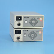 1pc Used Sony Dxc-ls1 Ccd Color Video Camera Dc 12v Control Unit Used Tested