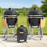 Harrier Arvo Kamado Egg Bbqs [3 Sizes] | Charcoal Grill Andndash Outdoor Cooking Oven