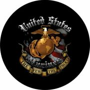 Itand039s 5 Oand039clock Somewhere Blue Spare Tire Cover - Optional Camera Port