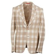 Isaia Slim-fit And039capriand039 Lightweight Cotton And Silk Sport Coat 40r Eu 50