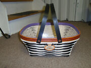 Longaberger, 2014 Host Only Wicked Falls Harvest Basket Protand Tie-on, New