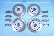 Ram 1500 Front And Rear Brake Rotor W/ Pads 8pc Set 2013-2020 Oem