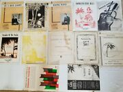 Vintage Lot Of 12 Hawaiian Sheet Music From The 1930and039s Hard To Find Collectible