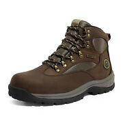 Nortiv 8 Menand039s Hiking Boots 24h Outdoor Waterproof Mid Ankle Leather Hiker Boots