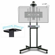 Mobile Led Lcd Floor Tv Cart Stand Mount 32 42 47 55 65 70 For Samsung Lg Vizio