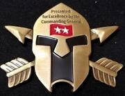 Rare Us Army Special Forces Command Airborne Commanding General 2 Star Spartan