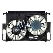 For Toyota Rav4 16-18 Pacific Best Dual Radiator And Condenser Fan Assembly