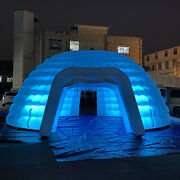 26ft/8m Dia Inflatable Dome Tent Outdoor Lingting Tent With Air Blower For Event
