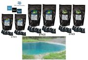 New Concentrated Pond / Lake Dry Dye 8 Packets 4oz Ea. Treats 2.4 Acres 3 Colors