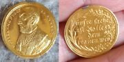German States Anhalt Gold Ducat 1730 Reformation 200th Year Comm-extremely Rare